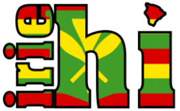 Irie Hawaii Small Logo
